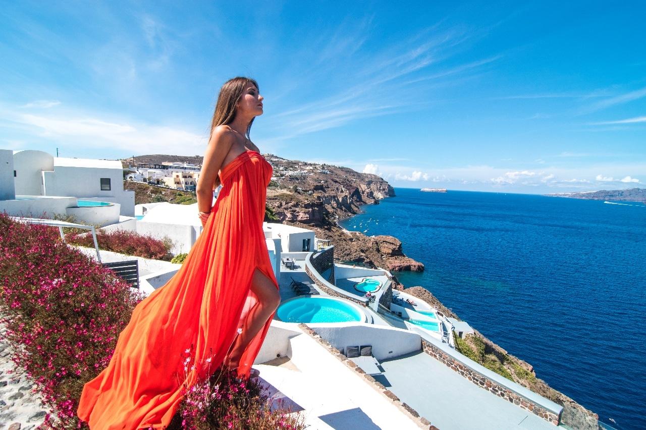 Santorin - voyage de luxe