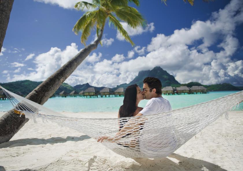 Vue sur le lagon du Bora Bora Pearl Resort and Spa