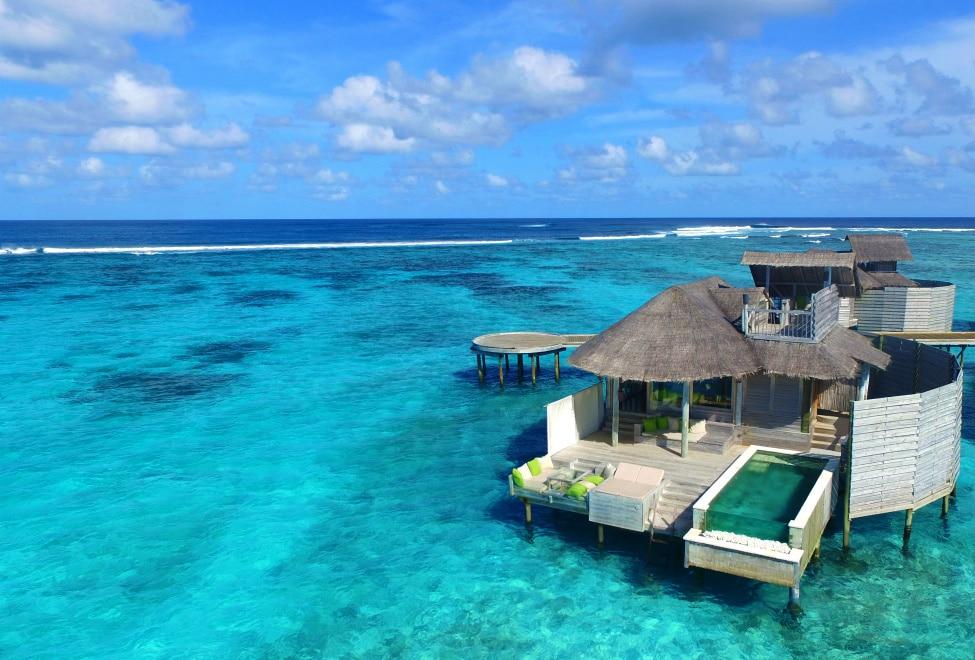 Six Senses Laamu -lune de miel aux Maldives