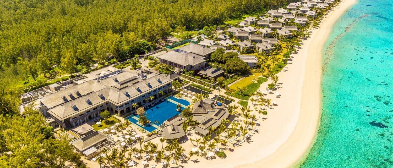 Vue aérienne hotel The St. Regis Mauritius Resort