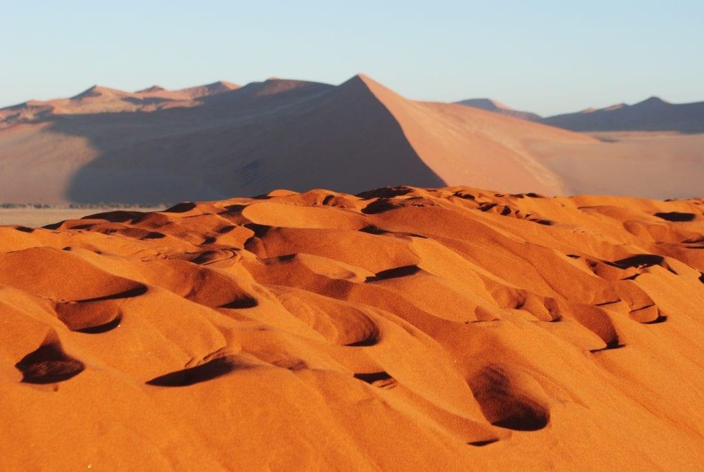 Dune Sable à Namibie - voyage de luxe