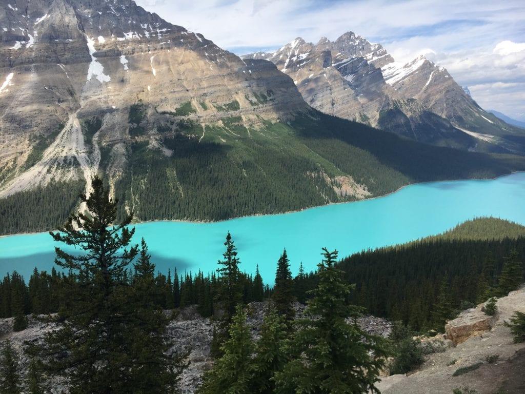 Petyo Lake, Alberta, Canada