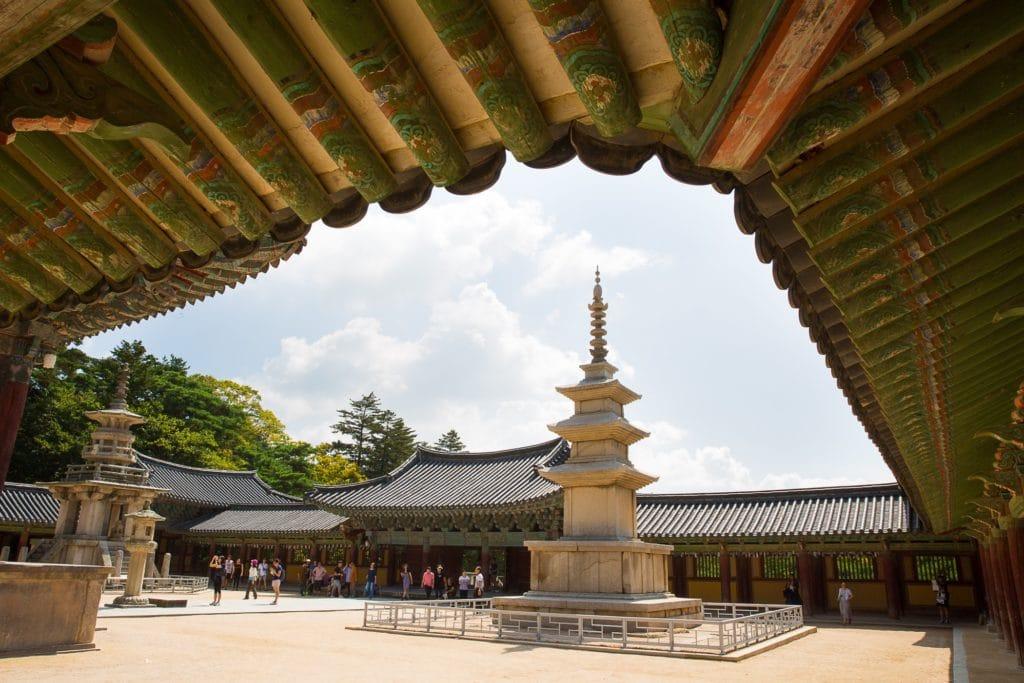 Palais Corée du sud - voyage sur mesure