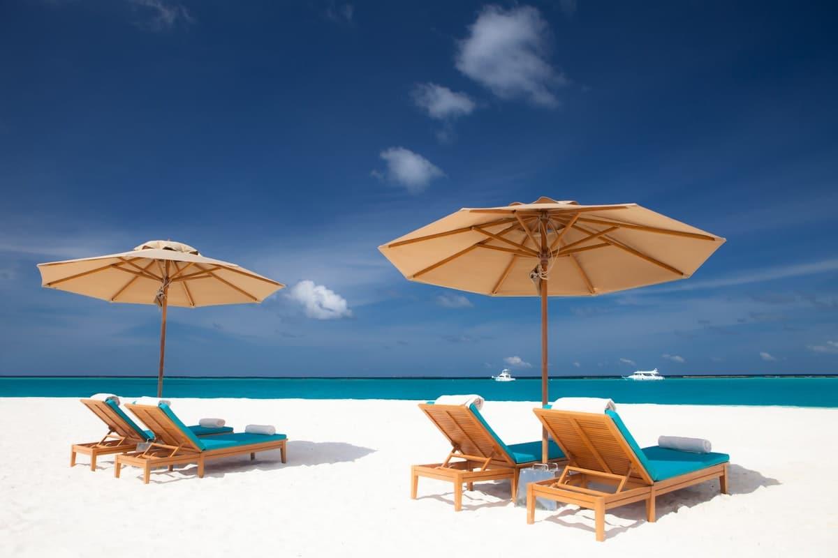 circuit a la carte - plage des maldives