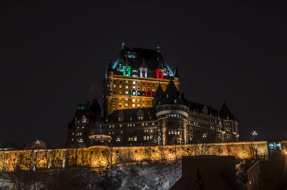 Monument Quebec au Canada pour un voyage sur mesure