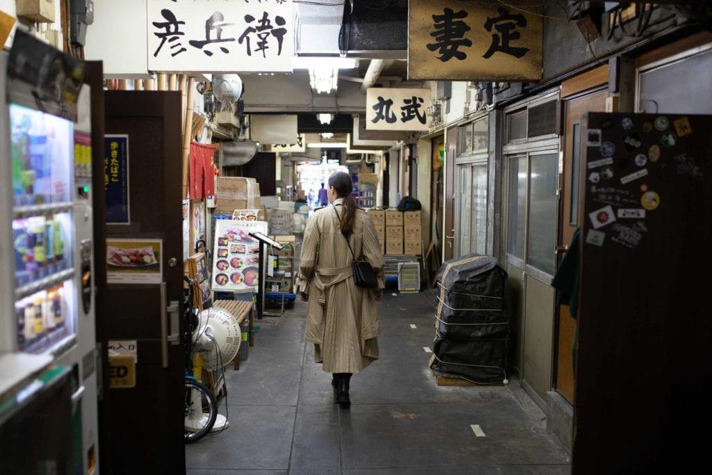 tsukiji, japon