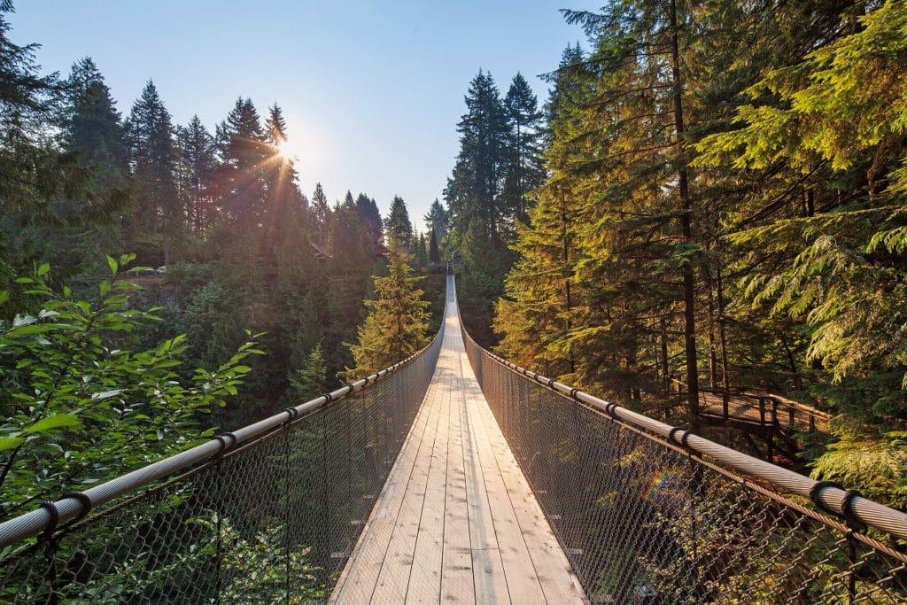 Capilano Bridge à Vancouver