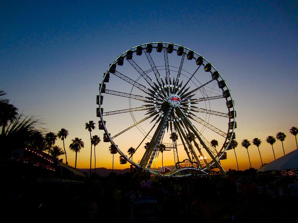 Coachella-sunset-california-festival