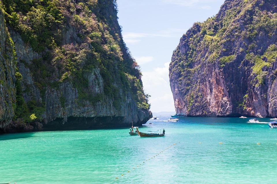 voyge sur mesure thailand - plage de koh phi phi