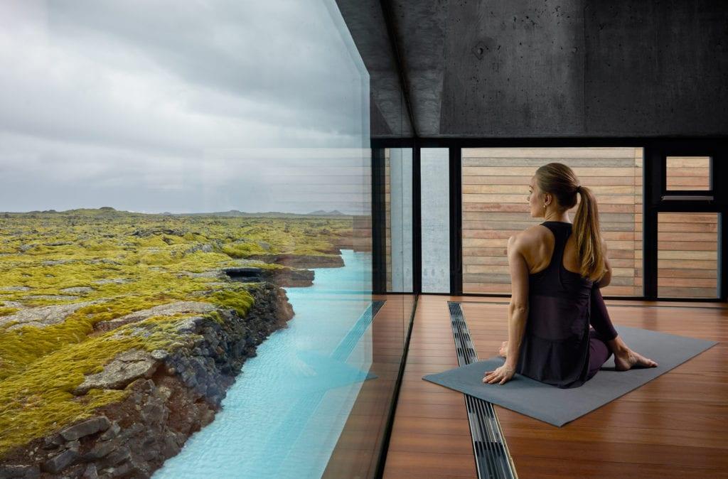 Vue sur les paysage islandais