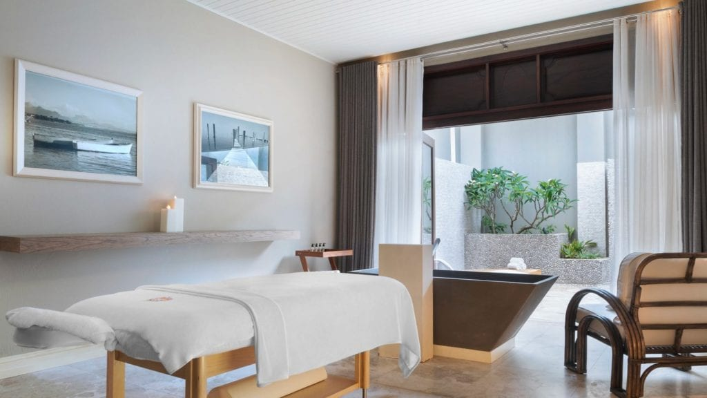Spa du St Regis Mauritius Resort à l'Ile Maurice - agence de voyage luxe monaco