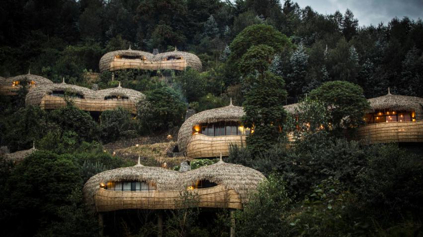 hôtel Bisate, Rwanda  voyage sur mesure