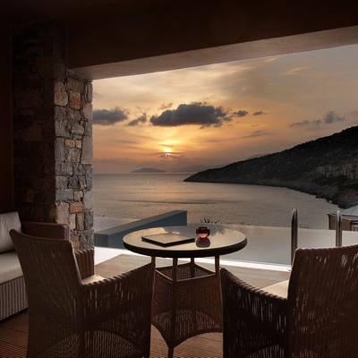 Deluxe Room -  le Daios Cove Luxury Resort & Villas - agence de voyage luxe