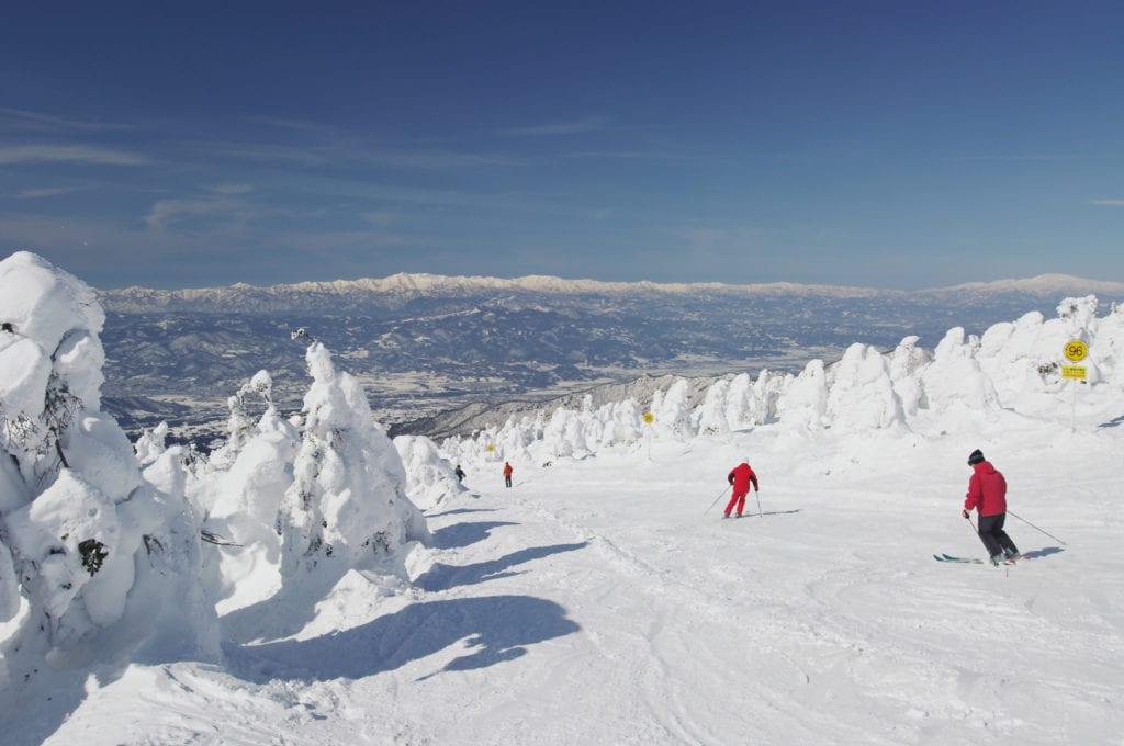 ski au japon, hiver japon, montagne