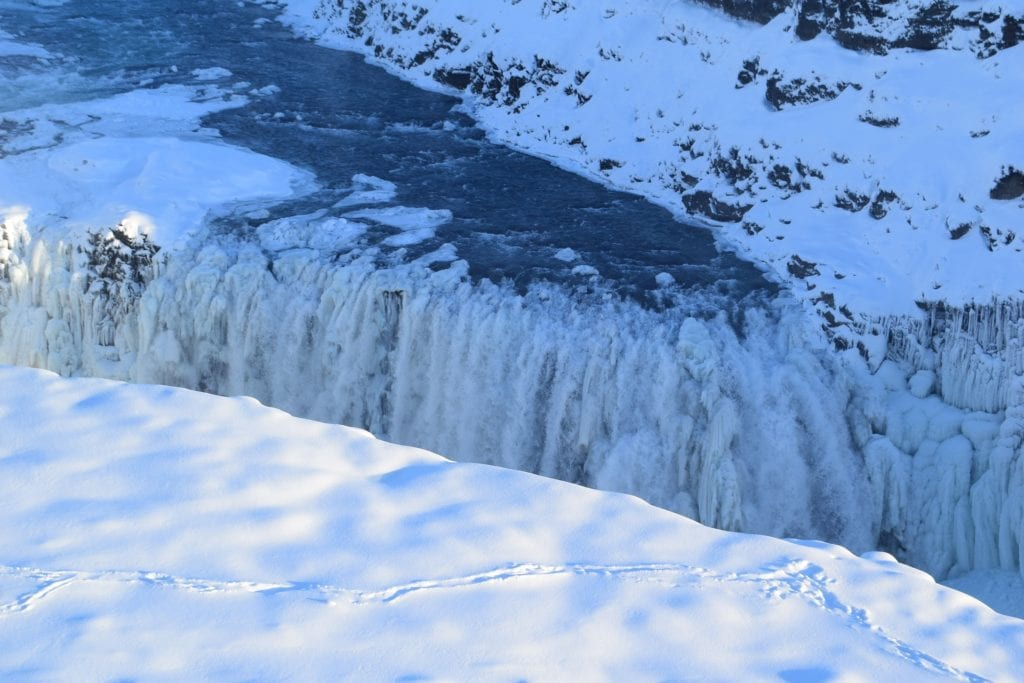 chutes d'or islande