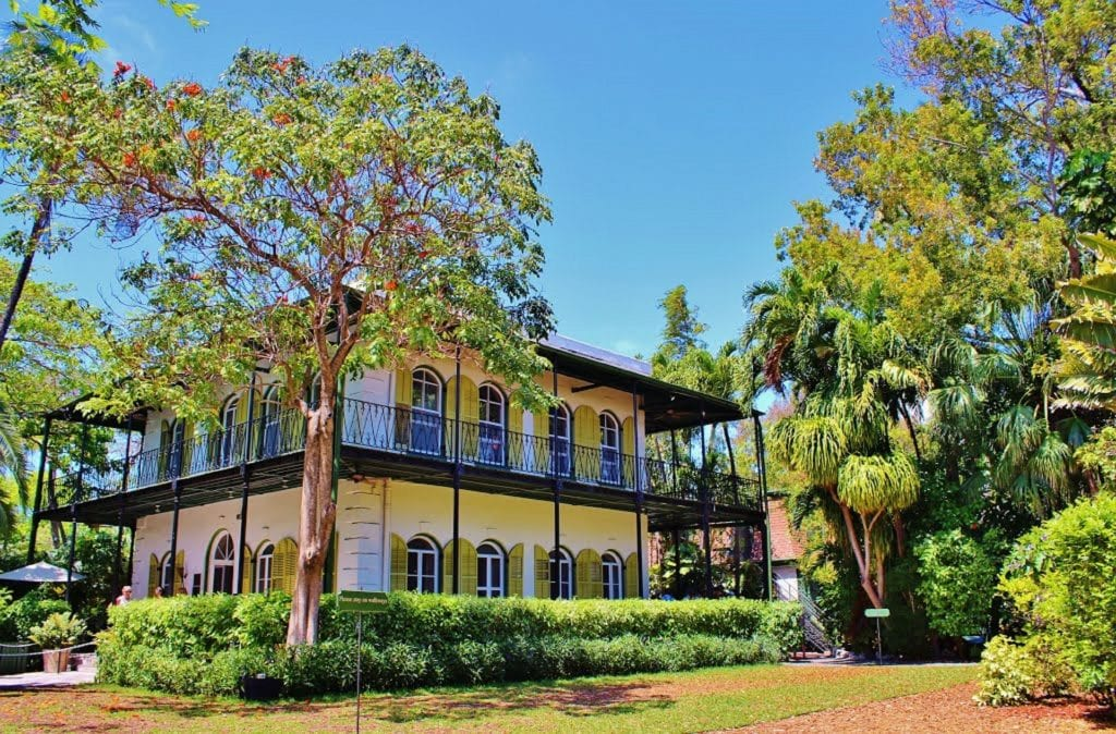 maison de ernest Hemingway Autotour en Floride