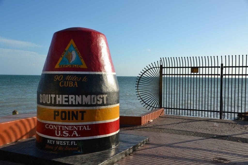 southernmost point key west Autotour en Floride