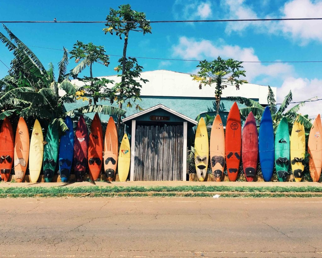 séjour surf à Hawaii - voyage itinérant