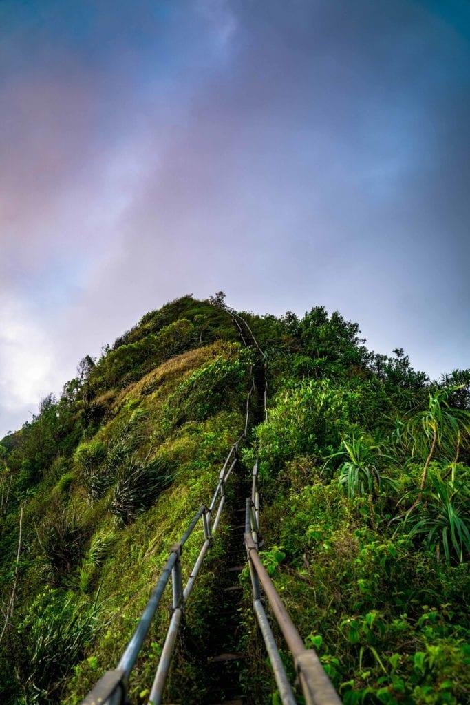 escaliers honolulu - agence de voyage luxe