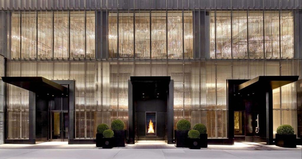 agence de voyage haut de gamme à l'Hôtel Baccarat à NYC