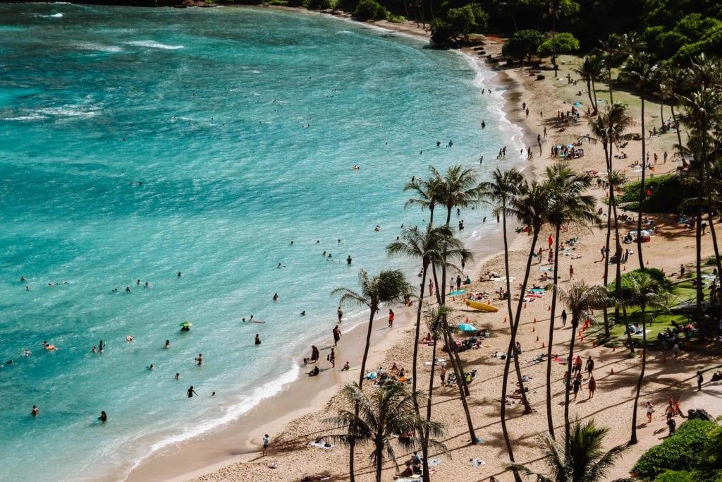 plage honolulu hawaii - voyage organisé sur mesure
