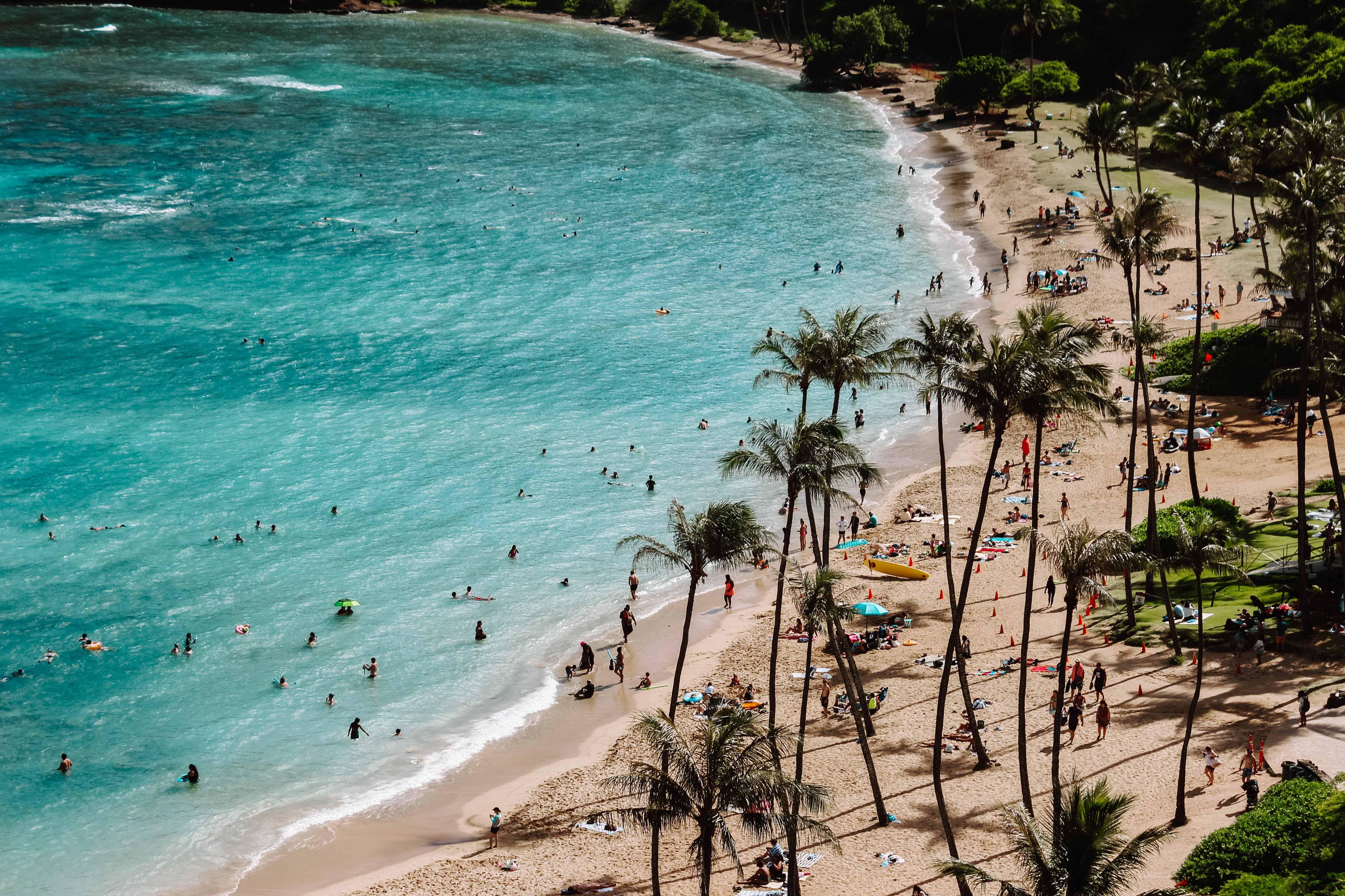 voyage d exception sur la plage honolulu hawaii