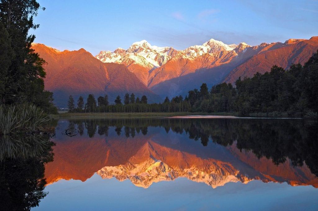 Mont Cook Nouvelle-Zélande voyage tout compris