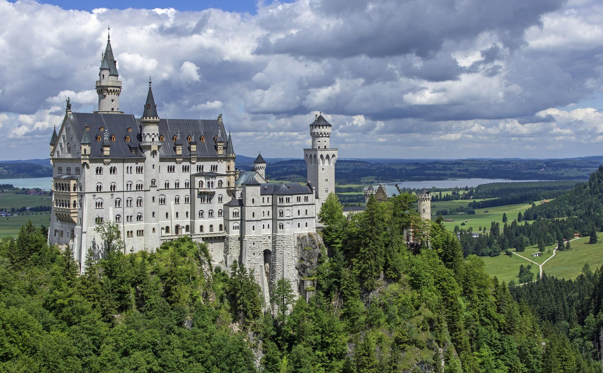 voyage de luxe Allemagne pour visiter de magnifique château