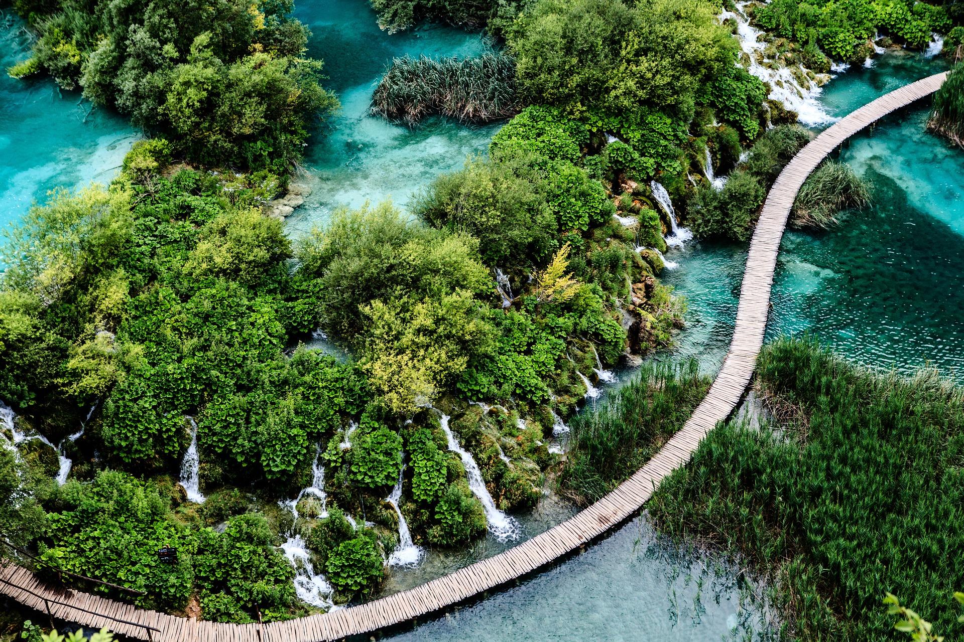 voyage parc en Croatie