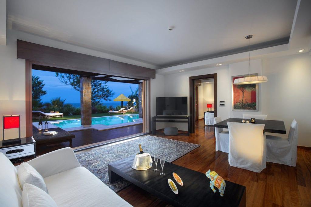 Porto Zante Villas & spa 5* L'établissement le plus de luxueux de l'île de Zakynthos