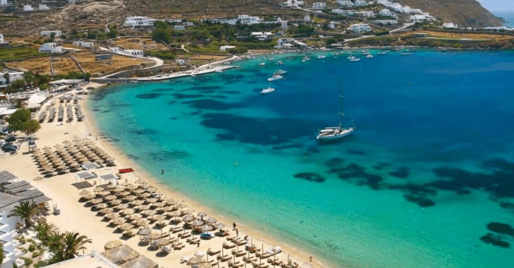 ornos beach sejour de luxe