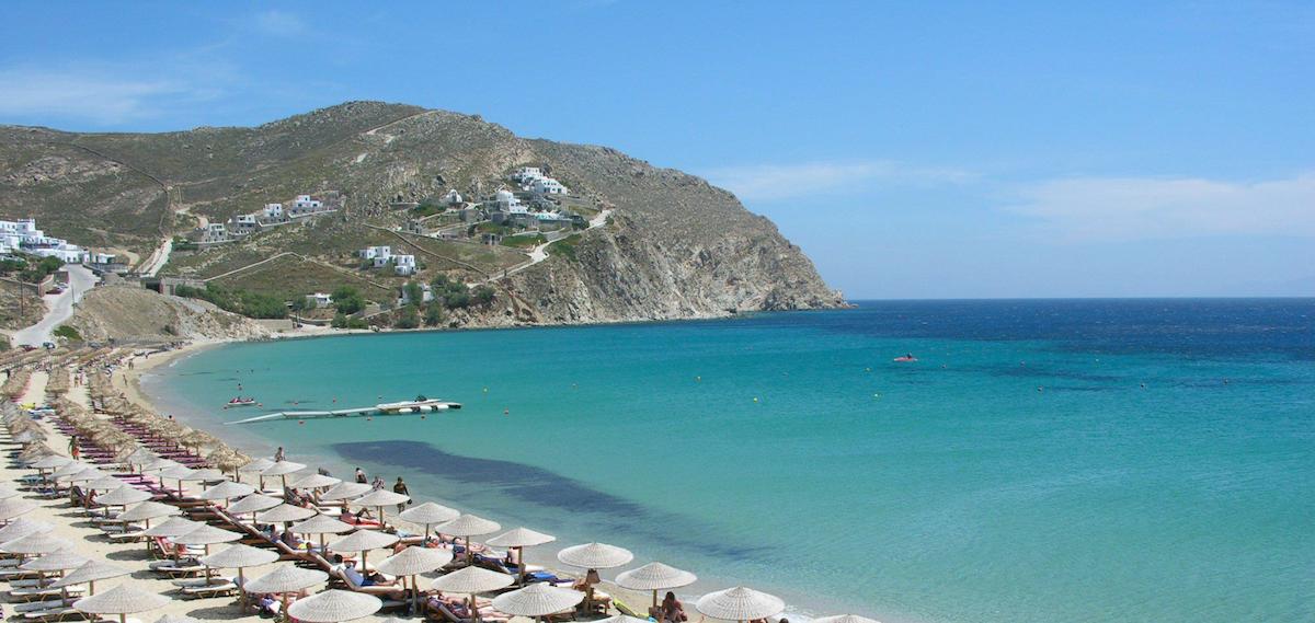 plage elia sejour de luxe mykonos