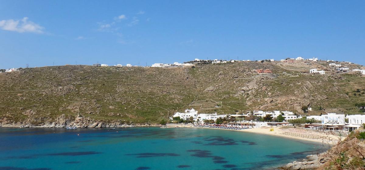 psarou beach voyage de luxe