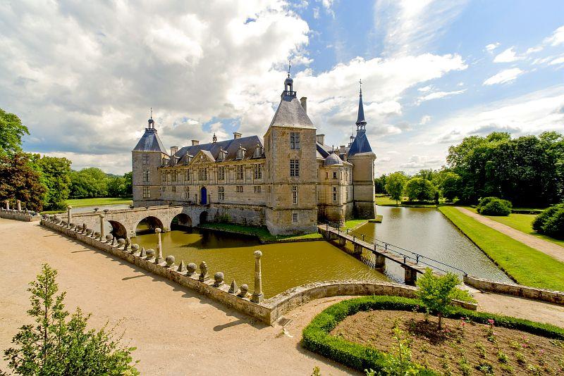 Escapade château Bourgogne