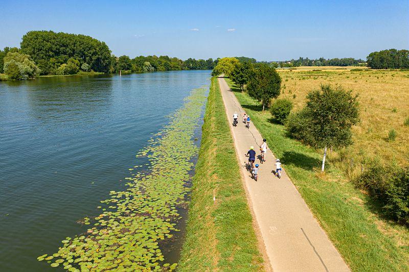 Promenade à vélo Canal Bourgogne