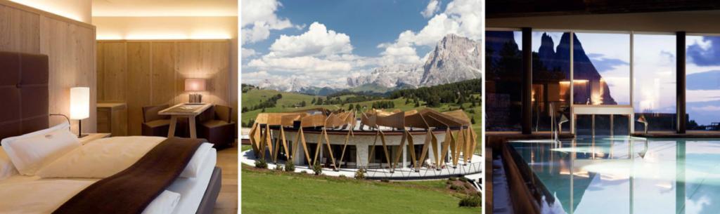 Voyage luxe Dolomites