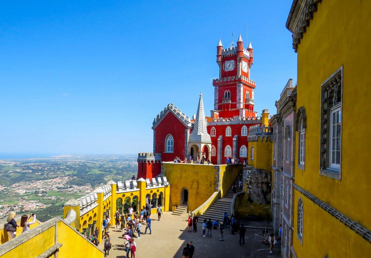 Pena Palace, Estrada da Pena, Sintra, Portugal sur mesure